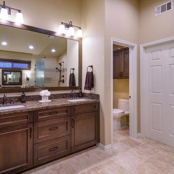 Kitchen and Master bath