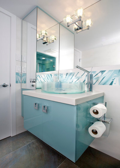 Modern Bathroom by Wall to Wall Kitchen and Bath