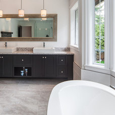 Traditional Bathroom by Kitchen Craft Cabinetry Vancouver