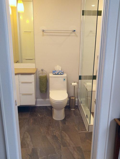 Small bathroom design ideas renovations photos with a for Small two piece bathroom ideas