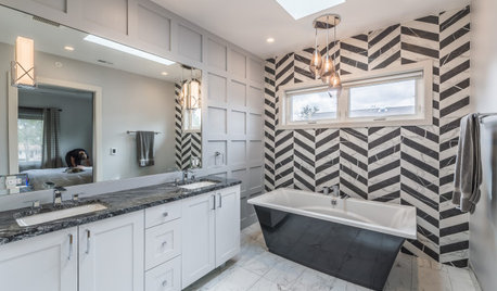 10 Bathrooms With Statement-Making Tile