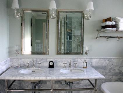 Traditional Bathroom by Rebekah Zaveloff | KitchenLab