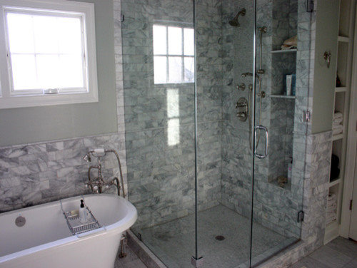 Best deep niche design ideas remodel pictures houzz - Bathroom shades waterproof ...