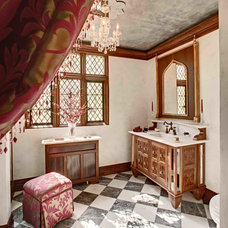 Traditional Bathroom by Anthony Albert Studios