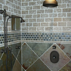 Traditional Bathroom by Fallone Building & Remodeling, LLC