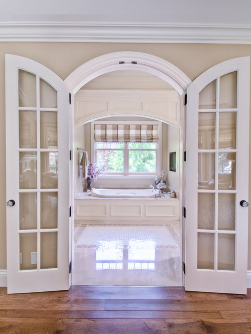 Arched French Doors Houzz