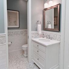 Traditional Bathroom by Viscusi Elson Interior Design - Gina Viscusi Elson