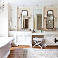 Traditional Bathroom by Karoline Kable, ASID