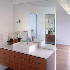 modern bathroom by Klopf Architecture