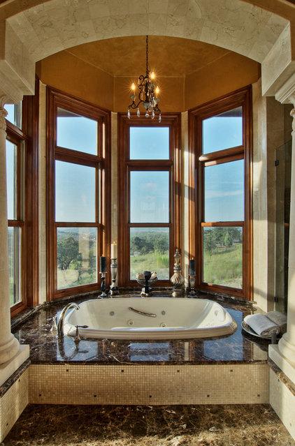 Traditional Bathroom by Bella Villa Design Studio