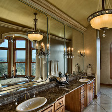 Traditional Bathroom by Bella Villa Design Studio