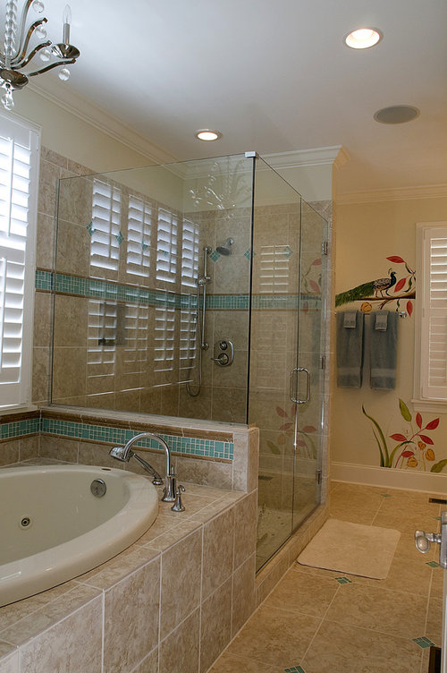love the flooring and tile around tub. Tile name?