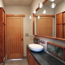 Contemporary Bathroom by Birdsmouth Construction, LLC