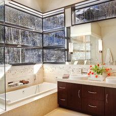 Contemporary Bathroom by Knudson Interiors