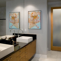 modern bathroom by Cravotta Interiors