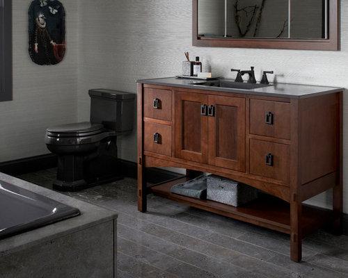 shop white vanity damask bathroom traditional at in kohler linen pd