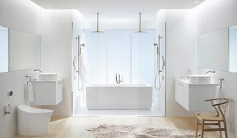 Kohler Products- White Bathroom
