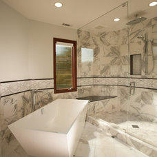 Modern Bathroom by Timeline Design