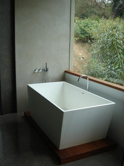 Modern Bathroom by valerie pasquiou interiors + design, inc
