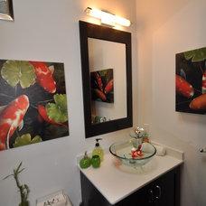 Contemporary Bathroom by Design 1 Kitchen & Bath