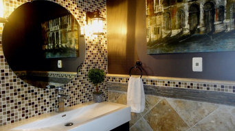 Kokomo, Indiana Home Stager -  Half Bath
