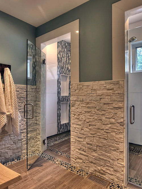 best stacked stone tile design ideas remodel pictures houzz