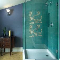 Traditional Bathroom by Kraft Custom Construction