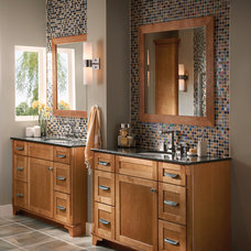 Contemporary Bathroom by Kitchen Cabinet Kings