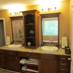 Montclair Cherry By Kraftmaid Traditional Bathroom