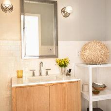 Contemporary Bathroom Krista Schrock Design