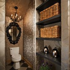 Traditional Bathroom by Kristina Wolf Design
