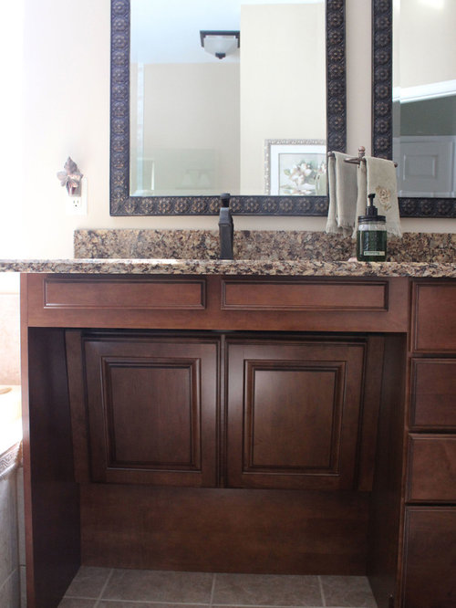 Wheelchair Accessible Vanity Home Design Ideas, Pictures ...