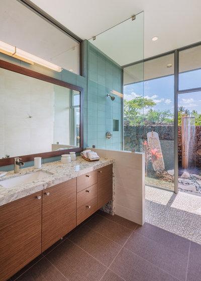 Tropical Bathroom by Nicholson