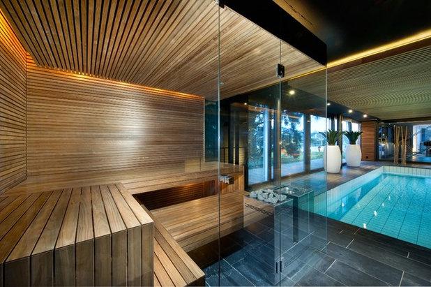 sauna domestica come installarla. Black Bedroom Furniture Sets. Home Design Ideas