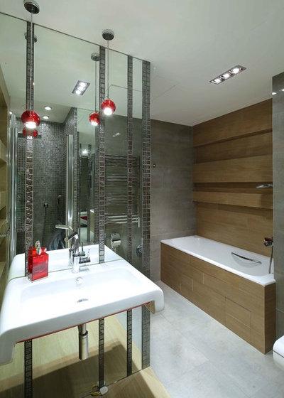Современный Ванная комната by Оксана Олейник