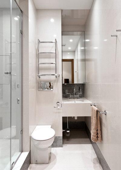 Современный Ванная комната by Tolypina Maria