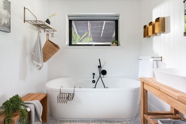 Scandinavian Bathroom by Unique Home Stays