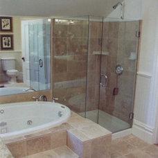 Traditional Bathroom by Larry Paul Associates