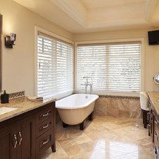 Eclectic Bathroom by L. Cramer Builders + Remodelers
