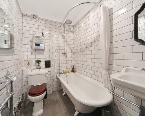 beigefarbenes bad mit betonboden ideen bilder houzz. Black Bedroom Furniture Sets. Home Design Ideas