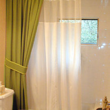 Traditional Bathroom by TRAX Ceiling Shower Rods