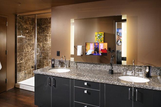 Contemporary Bathroom by Benning Design Associates