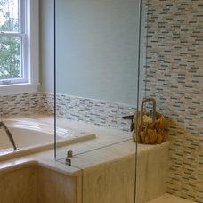 Traditional Bathroom by Susan Brook Interiors