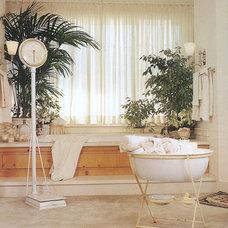 Eclectic Bathroom by Sandy Koepke