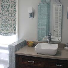 Traditional Bathroom by Erika Bruder Interior Design LLC