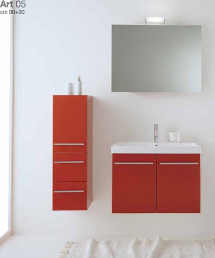 modern bathroom by ladimoradesign.com