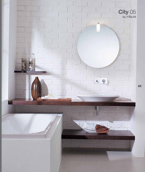 bathroom sink shelves floating floating shelf sink home design ideas renovations amp photos 16561