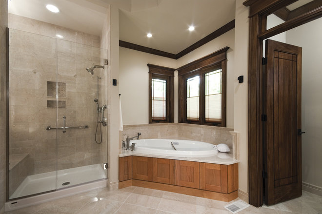 Traditional Bathroom by Studio 1 Architects