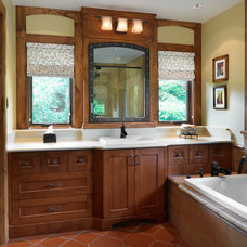 Southwestern Bathroom by The Sky is the Limit Design