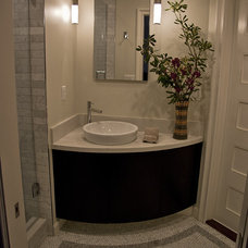 Eclectic Bathroom by Esteban Interiors